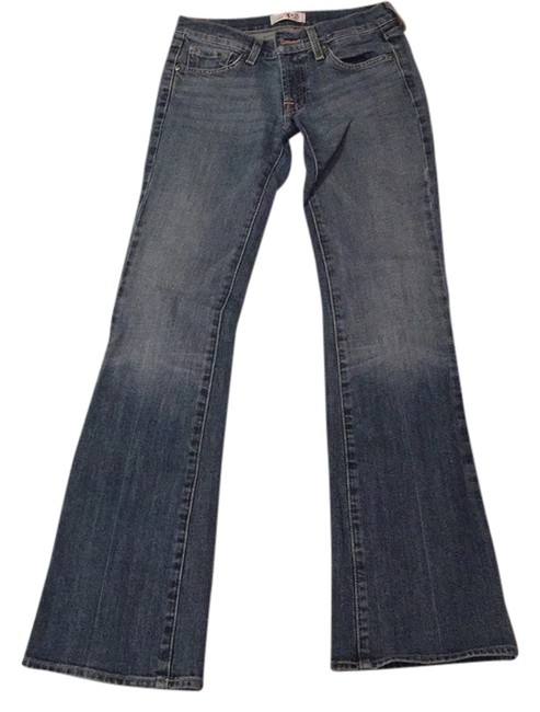 Express Deluxe Premuin Denim Boot Cut Jeans