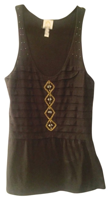 Preload https://item5.tradesy.com/images/anthropologie-blac-stacked-pleated-tank-topcami-size-6-s-5727394-0-0.jpg?width=400&height=650