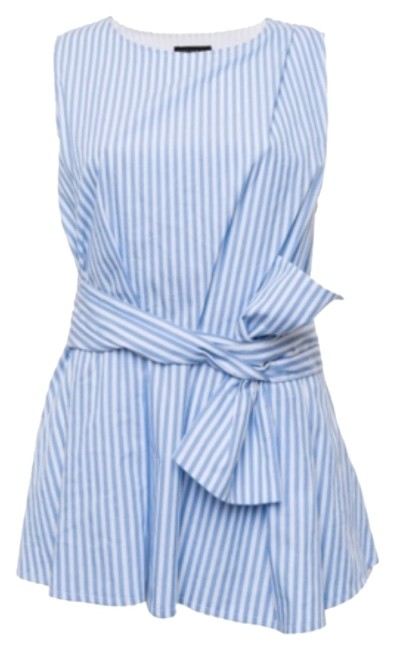 Preload https://item3.tradesy.com/images/blue-striped-blouse-tank-topcami-size-8-m-5727547-0-0.jpg?width=400&height=650