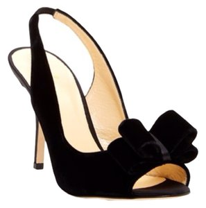 Kate Spade Slingback Heels Black Pumps