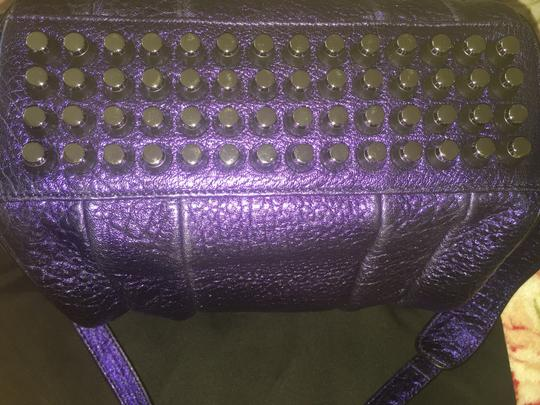 Alexander Wang Satchel in Metallic purple