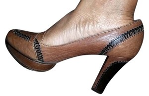 Fendi Loafers Brown Pumps