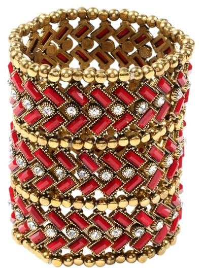 Preload https://item2.tradesy.com/images/ruby-and-gold-new-x-long-moroccan-style-boho-bracelet-5730526-0-0.jpg?width=440&height=440