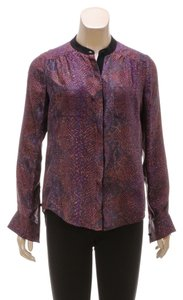 Rebecca Taylor Top Purple/Multicolor