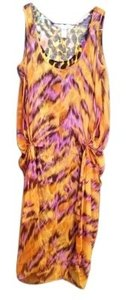 Diane von Furstenberg short dress Multi-Print on Tradesy