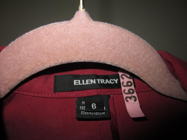 Ellen Tracy Pic Makes It Look Bright It's A Muted Dark Mauve Jacket