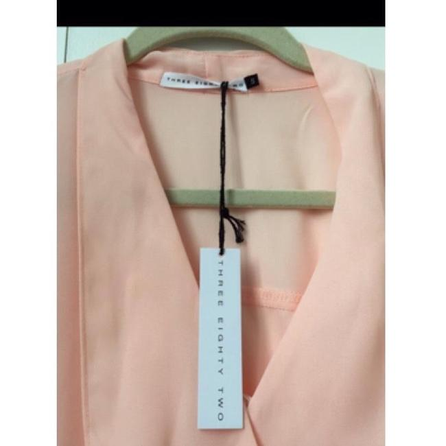 Three Eighty Two Stella Tie 382 Wrap Top Pink