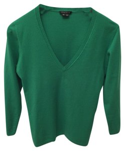 Theory V-neck Kelly Transitional Deep V Sweater