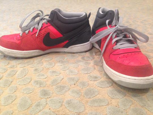 Nike Red Red, Gray Athletic