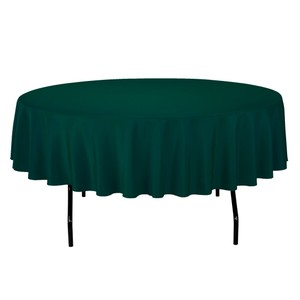 Hunter Green Lot 8 Polyester Tablecloth