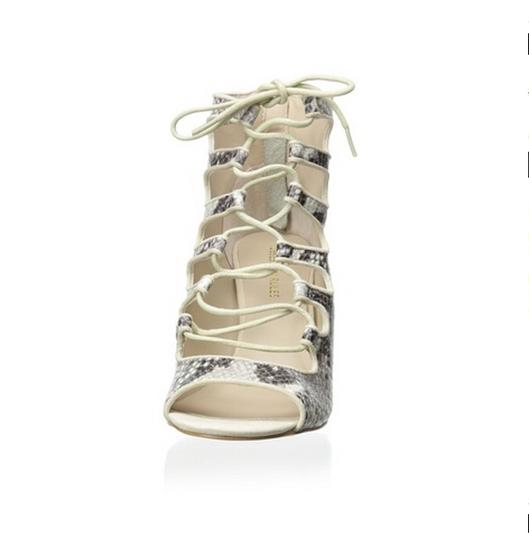 Obsession Rules Black and White Sandals