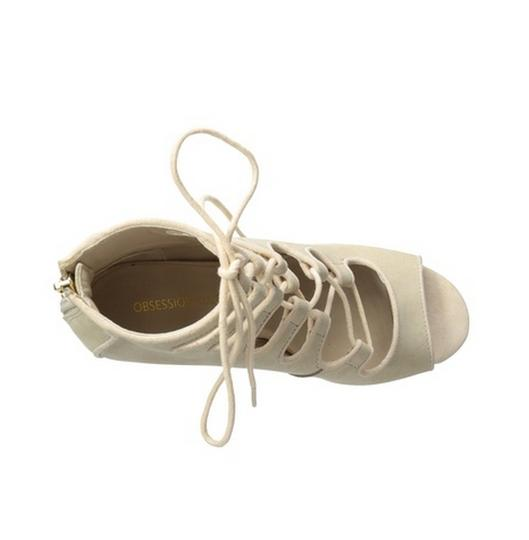 Obsession Rules Beige Sandals