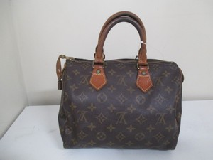 Louis Vuitton Speedy 25 Satchel in Brown