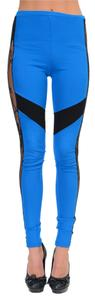 Just Cavalli Blue/Black Leggings