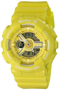 Baby-G Casio Baby-G BA110BC-9A Yellow G-Shock