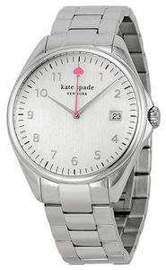 Kate Spade kate spade new york Women's Silver Analog Watch 1YRU0029