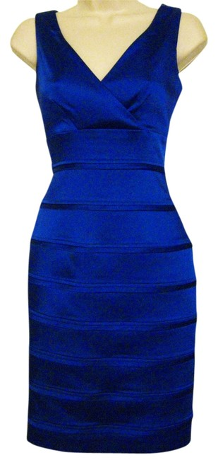 Antonio Melani V-neck Sleeveless Sheath Dress