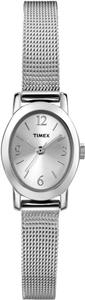 Timex Timex T2N743 Women's Silver Analog Watch With Silver Dial