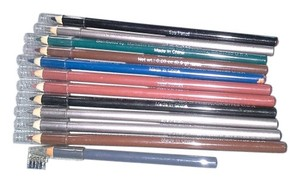 12 EYELINER/ LIPLINER BROW PENCILS NEW AND NEVER USED