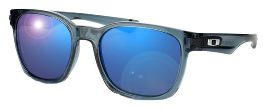 Oakley Oakley OO9175-24 Garage Rock Sunglasses Crystal BlackIce Iridium