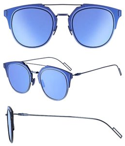 Dior Dior Homme Dior Composit 1.0 Sunglasses Shiny Blue Ruthenium/Blue