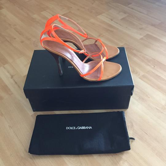 Dolce&Gabbana Art 5164 Neon Orange Sandals
