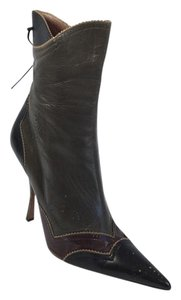 ALAA Alaia Paris Brown Boots