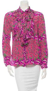 Roberto Cavalli Button Down Shirt Pink