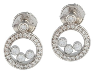 Chopard **AFF LA** HAPPY DIAMOND EARRINGS
