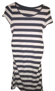 Liz Lange Maternity Navy And White Striped