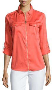 Michael Kors Top Hot Coral