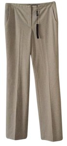Elie Tahari Trouser Pants Creme/grey