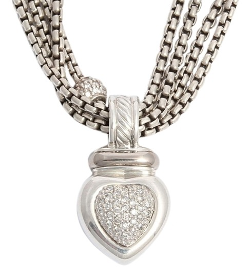 Preload https://item3.tradesy.com/images/david-yurman-diamond-heart-necklace-5737657-0-0.jpg?width=440&height=440