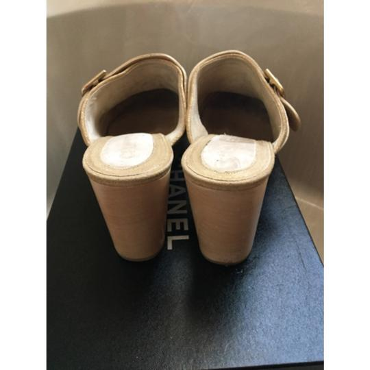 Chanel Dark gold Mules Image 2
