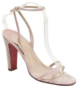 Christian Louboutin Champagne Pink Sandals