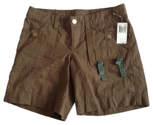 Buffalo David Bitton Shorts Olive Green