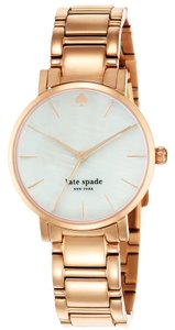 Kate Spade Kate Spade Gramercy mother of Pearl Dial Rose Gold-plated Ladies Watch 1YRU0003