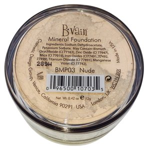 B*Vain B. Vain Mineral Foundation - Nude - New & Sealed