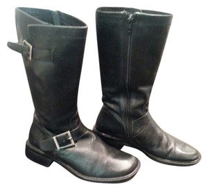 Motorcycle Black Boots
