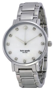 Kate Spade Kate Spade Gramercy Mother of Pearl Dial Stainless Steel Ladies Watch 1YRU0006