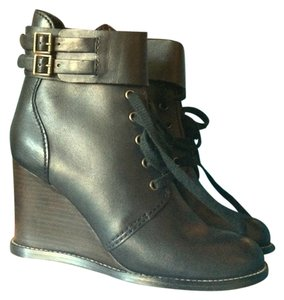 See by Chloé Wedge black Boots