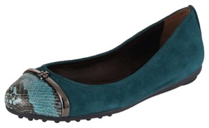 Tory Burch Deep sea blue/ multi Flats