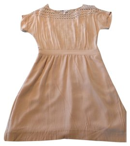 BCBGeneration short dress Nude blush on Tradesy