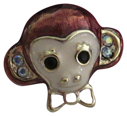 Betsey Johnson Betsey Johnson Little Monkey Face Post Earrings - New with Original Tag
