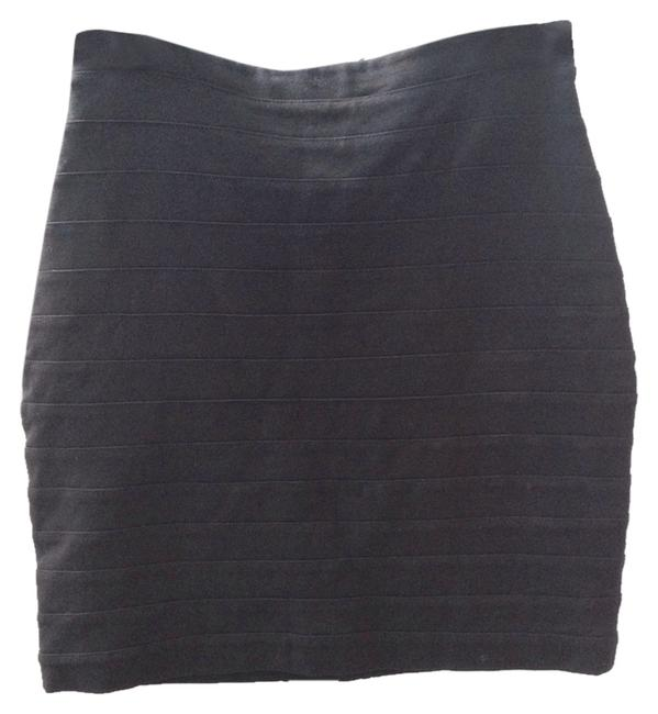 Express Mini Skirt black
