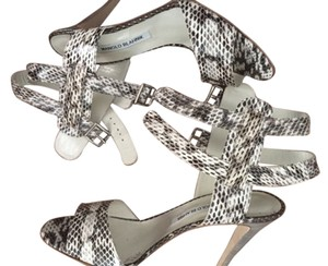 Manolo Blahnik Snake Pumps