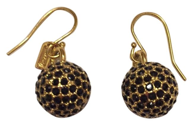 Item - Black and Gold Earrings