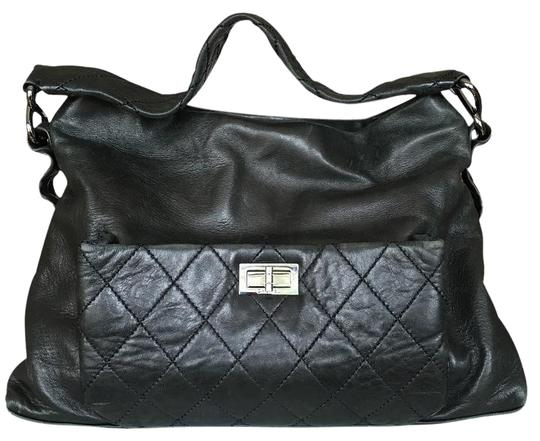 Preload https://item5.tradesy.com/images/chanel-black-lambskin-leather-hobo-bag-5741044-0-7.jpg?width=440&height=440