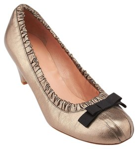 Marc by Marc Jacobs Silver Pumps