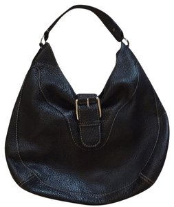 Michael Kors Vintage Boho 70's Grain Leather Hobo Bag